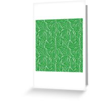 Seamless floral pattern with leaves motive Greeting Card