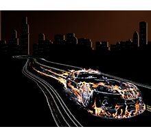 Hot Wheels Photographic Print
