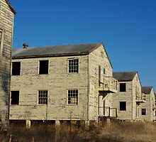Old Army Barracks by JBoyer