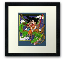 Dragon Ball Volume 1 cover Framed Print