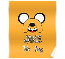 Jake The Dog- Adventure Time Nerd Poster
