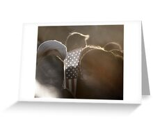 Americans Part !... GOD BLESS AMERICA Greeting Card