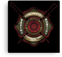 Winchester Firehouse Canvas Print