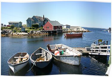 Peggy's Cove, Nova Scotia by Alyce Taylor