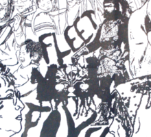 fleet Foxes before Sticker