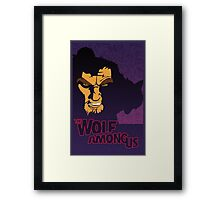 The Wolf Among Us Framed Print