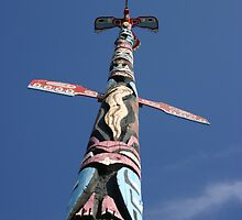 Ojibway Totem Pole by Alyce Taylor