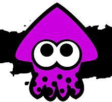 Splatoon Squid (Purple) by RocketClauncher