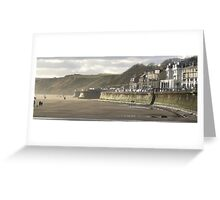 Filey in Winter Greeting Card