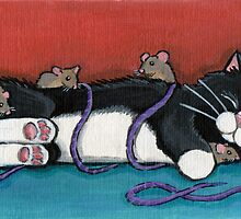 Gulliver's Nap by Lisa Marie Robinson