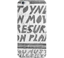 Toynbee Tiles - Ressurect Dead on Planet Jupiter iPhone Case/Skin