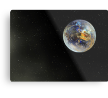 Last Chance To Evacuate Planet Earth Before It Is Recycled Metal Print