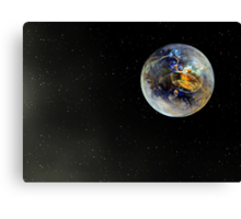 Last Chance To Evacuate Planet Earth Before It Is Recycled Canvas Print