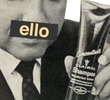 'Ello, Love. Sticker