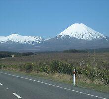 Mount Ngauruhoe, New Zealand  by SamanthaT