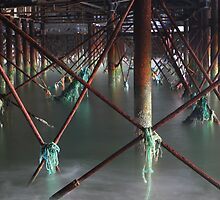 Under the pier by GordonScott