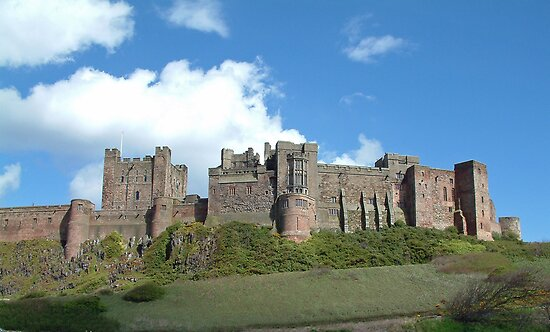 Bamburgh Castle by John Keates
