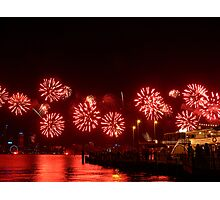 Red! - Perth Skyworks 2009 Photographic Print