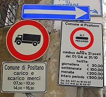 Sign Me Up For Positano by John  Callisto