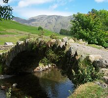 The Lake District: Bridge at Wasdale Head by Rob Parsons