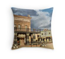 Tabernas, Almeria, Spain Throw Pillow