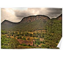 The Lost City - Glen Davis, Capertee Valley - The HDR Experience Poster