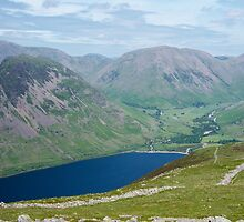 The Lake District: Looking Down on Wast Water by Rob Parsons