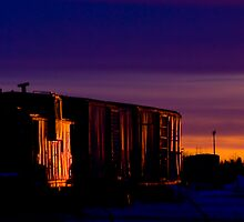 The Golden Caboose by peaceofthenorth