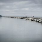 Herne Bay Breakwater, Herne Bay, Kent by Matthew Walters