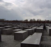 New Jewish Memorial, Berlin by TheNightNurse