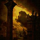Venice....columns of St Mark by Jeff Burgess
