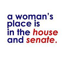 A Woman's Place... (Patriotic) by Emma Davis