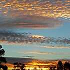 Layered Sunset above Woodend by Cameron Laird