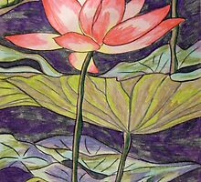 Lily/Lotus by Alexandra Felgate