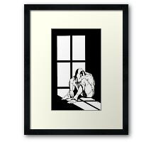 Creation Abandoned Framed Print