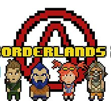 BOrderlands 2 Characters by S4beR