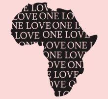 AFRICA ONE LOVE Kids Clothes