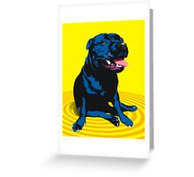 staffy / PBT Greeting Card