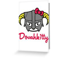 Dovahkitty Greeting Card