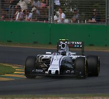 Valtteri Bottas by Stuart Daddow Photography