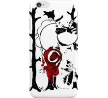 Abstract Stencil  iPhone Case/Skin