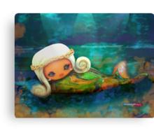 CHUNKIE Mermaid Canvas Print