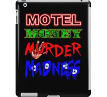 The Doors LA Woman Motel Money Murder Madness Design iPad Case/Skin