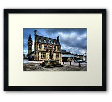 Market Cross Darlington Framed Print