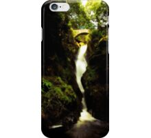 Aira Force Waterfall in the Lake District iPhone Case/Skin
