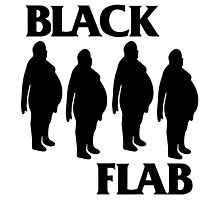 BLACK FLAB Photographic Print