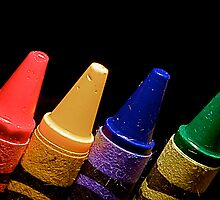 Crayons  by Francesca Rizzo