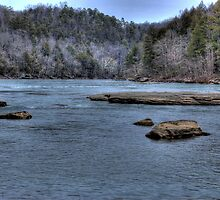 Cumberland River III by Jason Vickers