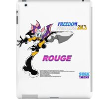 Rouge (Freedom Fighters 2K3) iPad Case/Skin