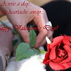 a rose a day_valentine by Glitter